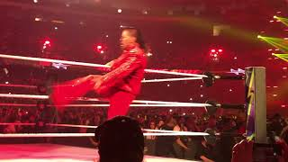 Wrestlemania 34 My View Shinsuke Nakamura Entrance