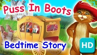 Puss in Boots - Bedtime Stories for Kids | Short Stories by Kids Academy