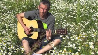 WATERBOYS WHOLE OF THE MOON(COVER) ACOUSTIC GUITAR IN A FIELD IN ORMSKIRK