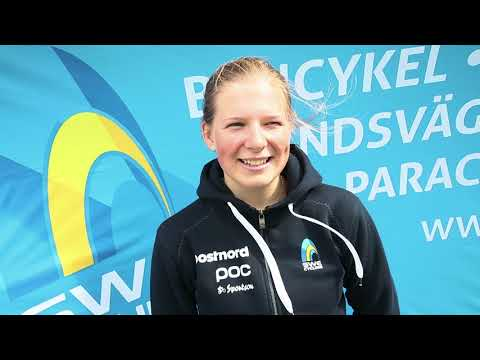 Intervju: Clara Lundmark femma under EM i landsväg