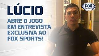 LÚCIO, CAPITÃO DO PENTA, ABRE O JOGO EM ENTREVISTA EXCLUSIVA AO FOX SPORTS!