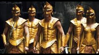 Immortals Film (HD) -- Best fight scene with Titans -- Colour Corrected