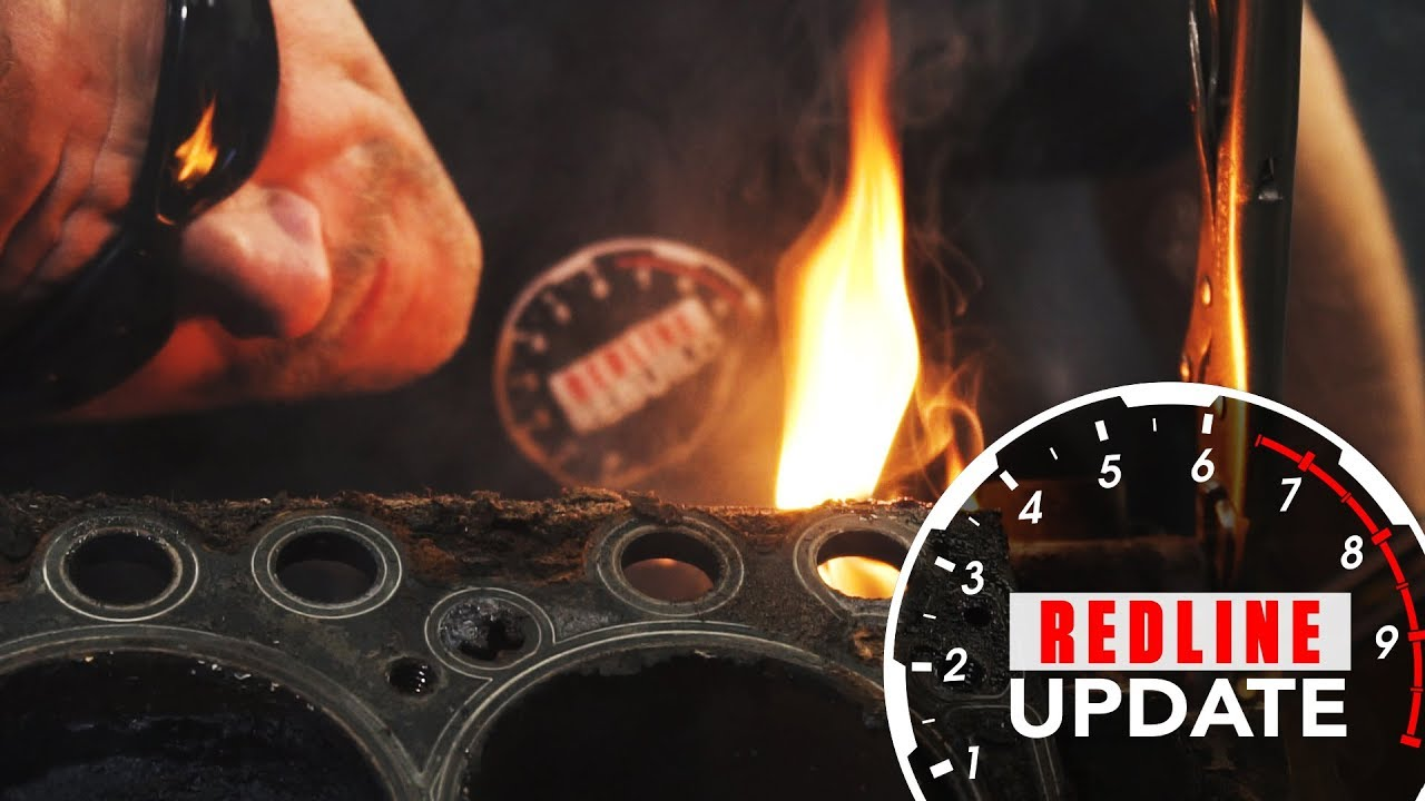 Redline Rebuild Update #2: Cylinder heads come off the Buick Nailhead