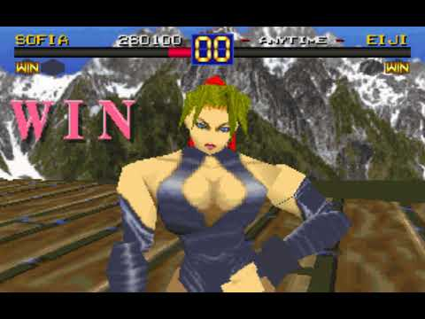 Battle Arena Toshinden (Sofia) (Digital Dialect) (MS-DOS) [1995] [PC Longplay]