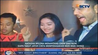 Lucunya Natasha Wilona Terima Tantangan Ngik Ngik Dance Bersama Kru STJC