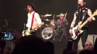 Full Song Green Day Playing Christie Road at The House of Blues Cleveland Ohio 4/16/15 Sweet Ch