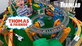 TrackMaster Thomas and Friends | Train Wheelies and Crashes!