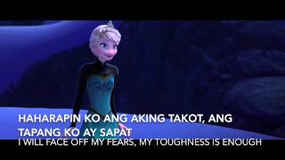 Frozen:Let it go -Tagalog version - S+T