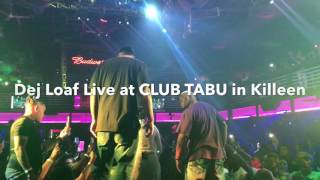 Dej Loaf Performing live with Jacquees in Killeen, Texas at CLUB TABU