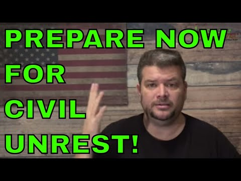Practical Things To Do To Prepare For Civil Unrest