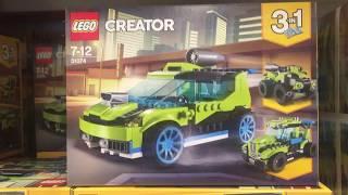 LEGO 31074 - LEGO Creator - 3-in-1 Raketen-Rallyeflitzer (31074)
