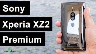 Sony Xperia XZ2 Premium - создан дарить впечатления. Обзор