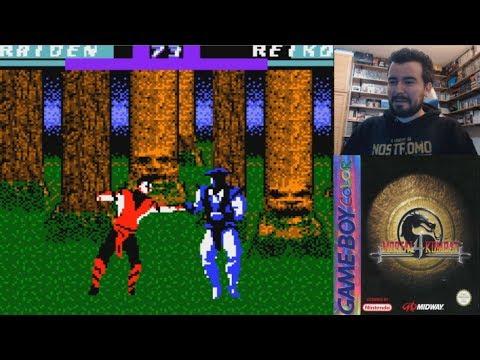 Morralla Clásica #6 - MORTAL KOMBAT 4 (Game Boy Color) - Uno de los juegos más infames de GBC