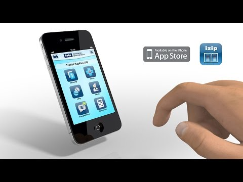 IZIP - elektronická zdravotní knížka - iPhone