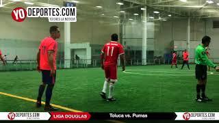 Toluca vs. Pumas Juego de Ida Liga Douglas