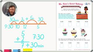 Time Word Problems: Sweet Bakery