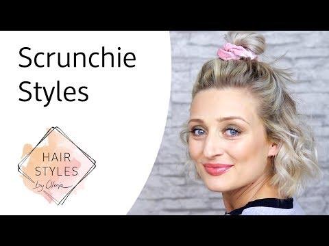 Scrunchie Hairstyles mit Olesja