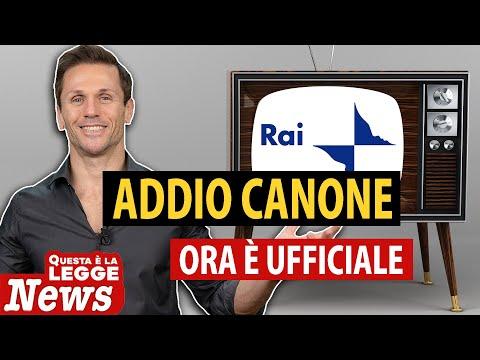 ADDIO CANONE RAI dalla bolletta | Avv. Angelo Greco