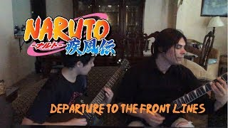 Departure to the front lines (Dúo Castoril)