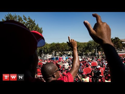 Thousands of workers join Saftu march against minimum wage