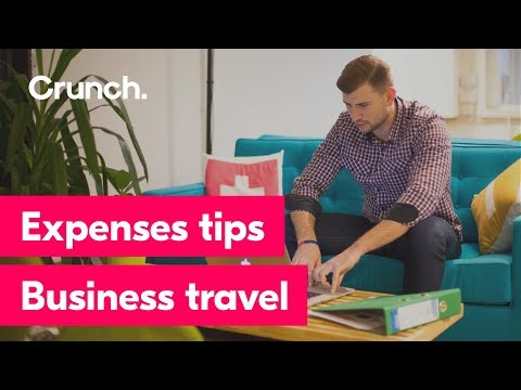 Expenses tips - Business travel