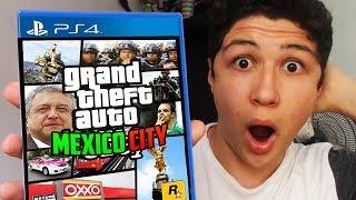 JUEGO AL NUEVO GTA V MÉXICO CITY!! GRAND THEFT AUTO 5 width=