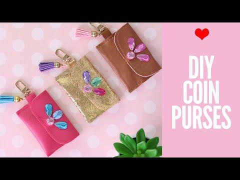 DIY Coin Purses