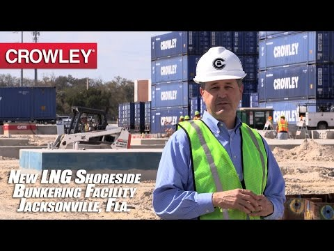 New Crowley LNG Shoreside Bunkering Facility at Port of Jacksonville