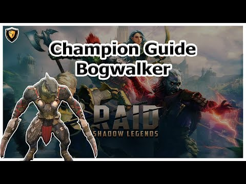 RAID Shadow Legends | Champion Guide | Bogwalker