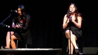 Barnegat High School Talent Show 2014: Risha Javines & Sadie Sciarrillo - Heartless