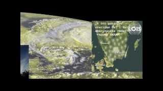 Svenska HAARP LOIS arbetar 7 augusti 2012  Giftiga nederbördsprover