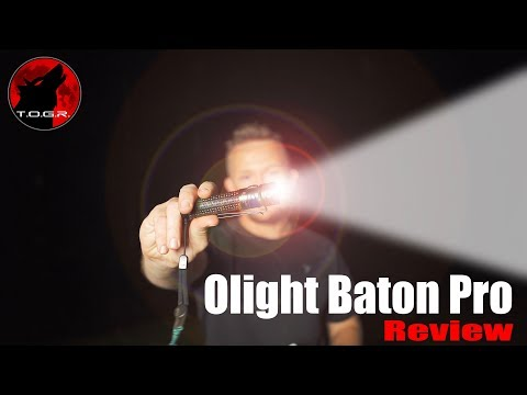 Small + Powerful But Not Perfect - Olight Baton Pro Review - EDC - 2,000 Lumens