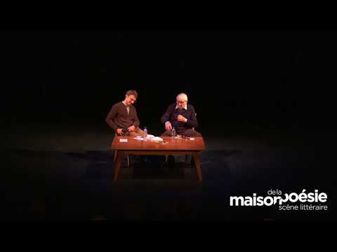 Vidéo de Blaise Cendrars