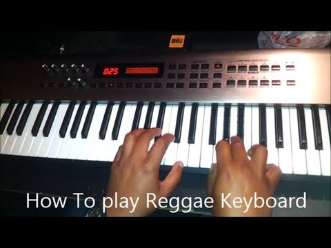 how-to-play-reggae-keyboard-how-to-play-reggae
