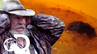 Rat Infested Moonshine and Explosive Barrels | Moonshiners