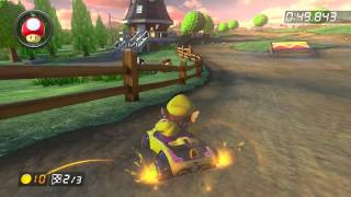 Wii Moo Moo Meadows - 1:25.639 - G13 Rοgυе (Mario Kart 8 World Record)