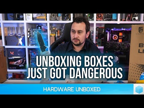Unboxing Boxes #46: Paper Cutter Upgrade, CableMod Cables, RIG 800LX, Freezer 33 eSports ONE & More!