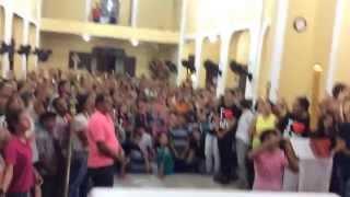 Sou um Milagre - Fabio Lima e Elson Junior - 21/05/2014 - Paroquia Santo Antonio - Guarabira PB