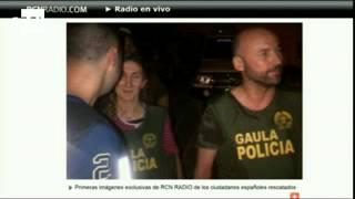 Liberan a los dos españoles secuestrados en Colombia.
