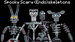 MMD- Spooky Scary (Endo)skeletons