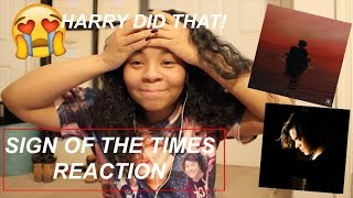 HARRY STYLES - SIGN OF THE TIMES {REACTION}