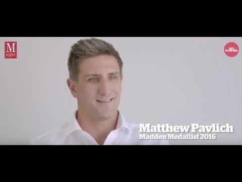2016 Madden Medal Winner - Matthew Pavlich