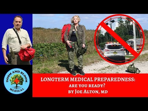 Longterm Medical and First Aid Preparedness: Are You Ready?