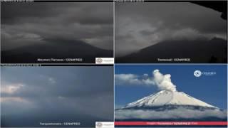 Popocatepetl - 20160531 - 18:05 a 23:59 hrs