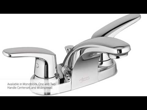 The Colony Pro Bathroom Faucet Collection from American Standard