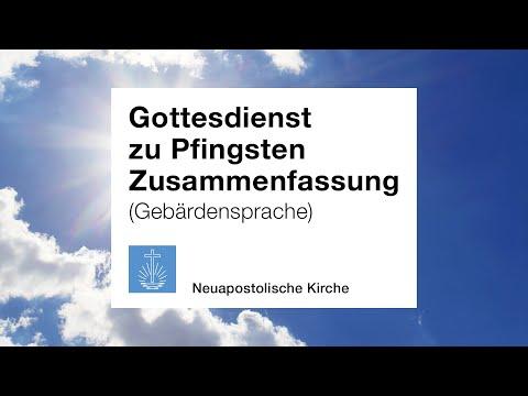 Pfingsten 2020 (Gebärdensprache)
