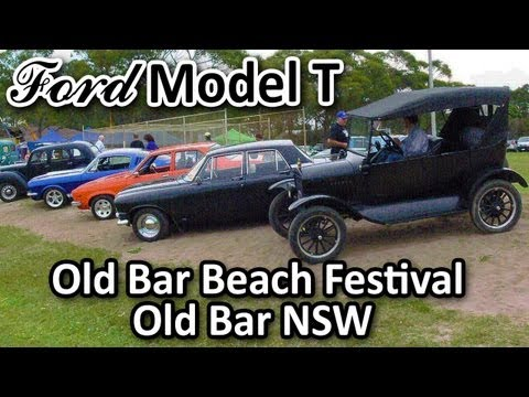 My 1925 Ford Model T - at Old Bar Beach Festival