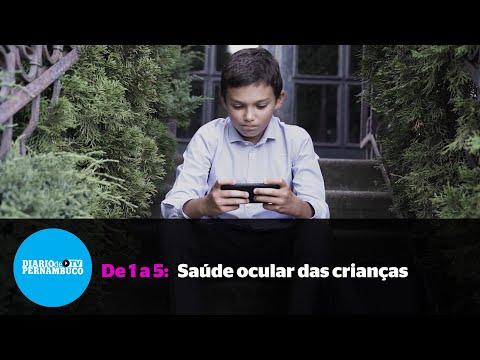 De 1 a 5: Cuidados na saúde ocular das crianças