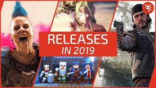 SPIELE-VORSCHAU 2019 für PS4, Xbox One, PC, Nintendo Switch + 3DS
