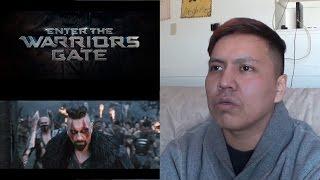 ENTER THE WARRIORS GATE   Official Trailer #2 Reaction